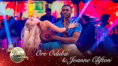 Ore Oduba and Joanne Clifton Salsa to 'Turn The Beat Around' - Strictly ...