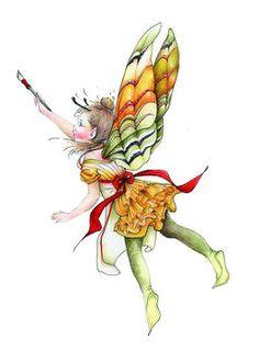 Fashion Fairy Freesia, Copyright© 2005 Fairies World