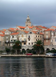 One of the many beautiful islands off the coast of Croatia. Korcula, Croatia