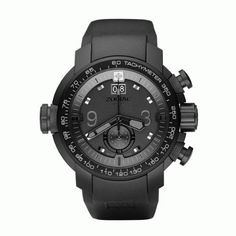cede58bc2f4 Zodiac ZMX-03 ZO8507 Gents Chronograph watch with LED illuminated dial and  anti-allergic rubber strap