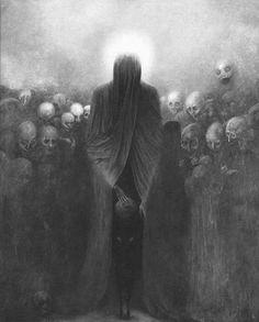 Dark Art by Zdzislaw Beksinski