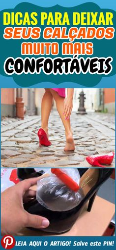 9f6e043778908 Ótimas dicas para deixar seus calçados muito mais confortáveis