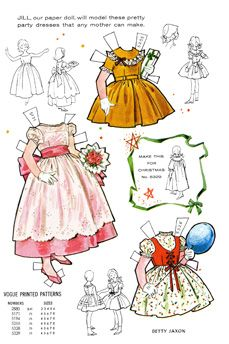 Vogue Paper Dolls from Jack & Jill
