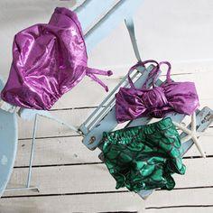 Ariana Purple Swimsuit