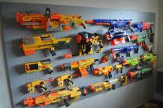 nerf gun storage - Google zoeken