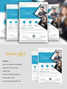 Corporate Business  Flyer. Flyer Templates