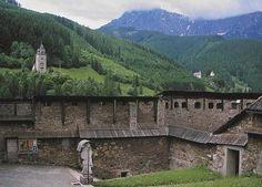 View from the St. Oswald Church, Eisenerz, Austria