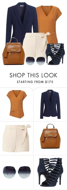 """Untitled #1454"" by gallant81 ❤ liked on Polyvore featuring WtR, Jaeger, Helmut Lang, Persaman New York and Kendall + Kylie"