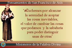 MISIONEROS DE LA PALABRA DIVINA: PENSAMIENTOS DE LOS SANTOS