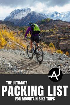 Mountain Biking Gear List - Best Mountain Bike Gear Articles – MTB Equipment and Accessories for Men, Women and Kids – Mountain Biking Products Articles and Reviews via @theadventurejunkies