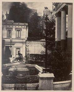 [Bassin au devant du porche de la maison romaine]   Les Arts décoratifs