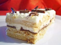 Prajitura cu biscuiti si frisca Romanian Desserts, Romanian Food, Romanian Recipes, Something Sweet, Cakes And More, Vanilla Cake, Dessert Recipes, Dessert Ideas, Tiramisu