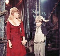 First musical I was ever in, I played Nancy in Oliver