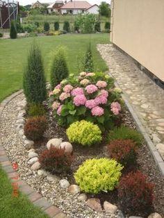 50 Awesome Front Yard Side Yard and Back Yard Landscaping Design Idea - Garten terrasse - Best Garden Ideas Farmhouse Landscaping, Front Yard Landscaping, Backyard Landscaping, Backyard Ideas, Luxury Landscaping, Landscaping Borders, Landscaping Melbourne, Backyard Designs, Modern Backyard