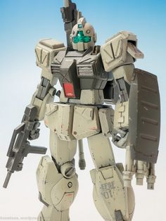 Custom Build: HGUC 1/144 GM II Semi Striker - Gundam Kits Collection News and Reviews