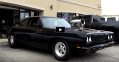 Nasty 1969 Plymouth Road Runner 440 Pro Street