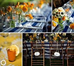 navy and yellow wedding Ally & Tyler   Carillon Wedding® » Rae Leytham Photography