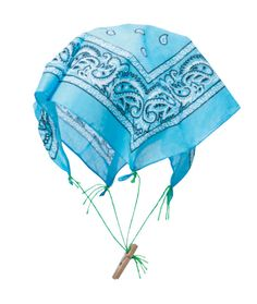 Physical Science Experiment | Flight Time! Students study forces, motion and gravity through this easy-to-do parachute activity!