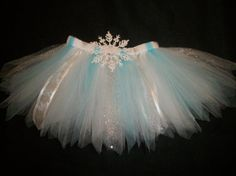Winter tutu Snow Princess snowflake