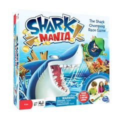 Spin Master - Spin Master Games Shark Mania Board Game is HIGH on our list of games to play! http://spinmaster.com/products.php