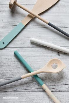 utensilios cocina diy : via MIBLOG
