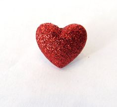 Valentine Heart Lapel Pin or Tie Tac  Red by MoxieMommas on Etsy, $3.50