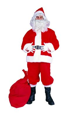 Velour Santa Suit by RG Costumes and Accessories