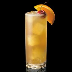 Maker's Mark Collins: Swap gin for bourbon to create a tasty spin on the classic Tom Collins.
