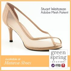 Stuart Weitzman, available at Matava Shoes #GreenSpringStyle