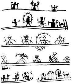 Shaman´s drum symbols in Scandinavia Esoteric Symbols, Drum Patterns, Cave Drawings, Afrique Art, Dream Catcher Art, Lappland, Book People, Indigenous Art, Aboriginal Art