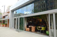 Beatrix Restaurant #Chicago #restaurant #foldingdoors #design #architecture #Aluminum #doors #lacantinadoors