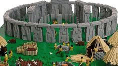 monument en lego