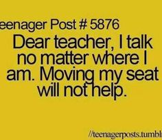 Lol so true, I'll talk to anyone if I'm that desperate Teenager Quotes, Teen Quotes, Funny Quotes, Funny Memes, Hilarious, Teen Posts, Teenager Posts, School Jokes, Teen Life