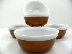 Set of 5 Gothamware Thermal Bowls by Chaseyblue on Etsy
