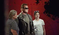 アーノルド・シュワルツェネッガーがハリウッド蝋人形館でドッキリ!閲覧数600万越え #ターミネーター http://japa.la/?p=50970