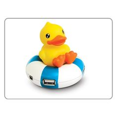 As far as I know, there is nothing that says your USB hub CAN'T be a rubber duckie on an innertube.