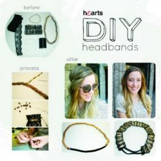 DIY-Headband with recycled materials