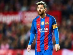 "Lionel Andrés ""Leo"" Messi is an Argentine professional footballer who plays as a forward for Spanish club FC Barcelona and the Argentina national team Fc Barcelona, Lionel Messi Barcelona, Leo, French League, Lionel Messi Wallpapers, Pogba, Stars, Outfits, Sports"