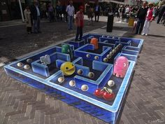 New 3D Pac-Man Street Painting - My Modern Metropolis