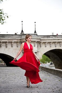 Romance in Paris ~ dress from TwoBirds Bridsmaid  Photography by @Anneli Marinovich