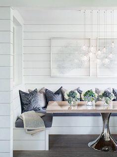 kleine zimmerrenovierung food design banquette, 347 best dining rooms images on pinterest in 2018   lunch room, Innenarchitektur
