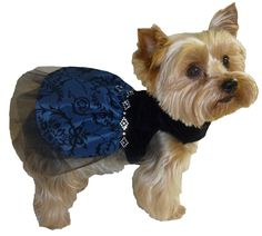 Dog Clothes Sewing Pattern 1521 Princess Dog Dress for the Little Dog in Two Styles $8.25