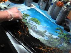 ▶ Spray Painting Nature