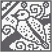Ravelry: Birdie Chart pattern by Melanie Nordberg