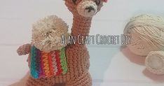 Crochet Diy, Crochet Amigurumi Free Patterns, Llamas, Straw Bag, Craft Ideas, Crochet Ornaments, Bedspreads, Needlepoint, Head And Neck