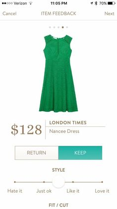 I already have plenty of dresses this color, but still.