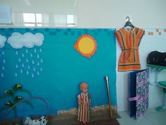 Artes 7: Cenários bíblicos para contar histórias para crian...