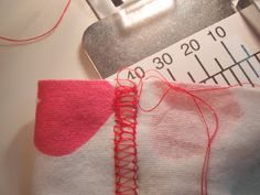 Tutorial: How to make a perfectly aligned coverstitch hem - I don't have one of these but I really want one!