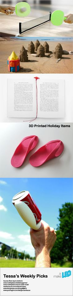Going on vacation? 5 products to 3D print before you go.