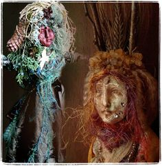 How to make a Spirit Doll ~ step by step by Joanna P Colbert